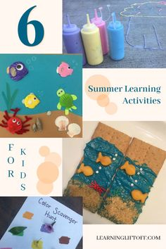 Whether you're still enjoying your summer break or you've already begun the new school year, here are six summer learning activities to try with your kids to soak in the rest of the season. The New School, New School Year, Kids Learning Activities, Summer Activities, Have Some Fun, Rest, Seasons, Infant Learning Activities, Seasons Of The Year