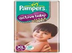 Pampers Active Baby Extra Large Size Diapers At Rs.1016