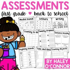 I created this product to use at the beginning of the year to see where my students are. It is a collection of 27 1-page assessments to gather information and drive your instruction.