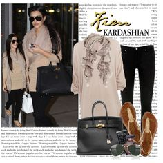 """1189. Celeb Style : Kim Kardashian (18.10.2010)"" by munarina on Polyvore"