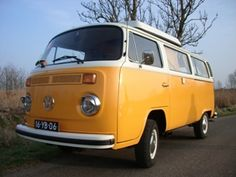 Yellow mellow fellow - my sister had this exact car in her hippy days in Jacksonville, Florida in the late 60's!
