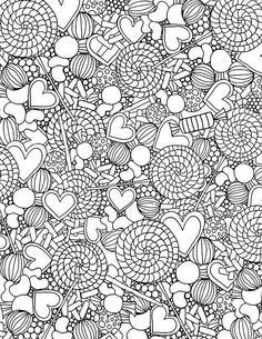 sweet treats coloring pages.html