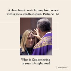 Psalm 51 12, Clean Heart, Psalms, Jesus Christ, Catholic, Content, God, Life, Dios