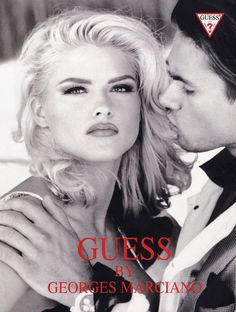 Guess Campaign1992 - Anna Nicole Smith. i have this poster at my work