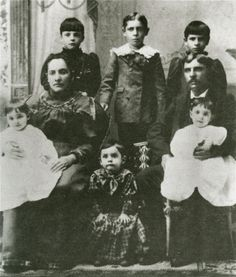 """The Avellar family. """"Provincetown Portuguese Cookbook,"""" by Mary-Jo Avellar (Morris Publishing, 1997)."""