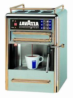 Lavazza Espresso Point Machine - http://teacoffeestore.com/lavazza-espresso-point-machine/