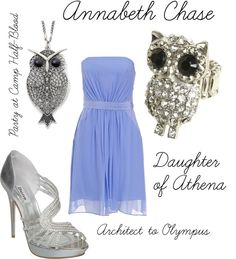 """""""Annabeth"""" (dressed up) by ellalea ❤ liked on Polyvore"""