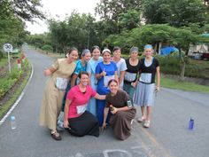 """Mennonite women doing an ultra marathon.  I love this picture!"" @LaRonda Schrock --typed in Mennonites and this came up..this made me smile! :)"