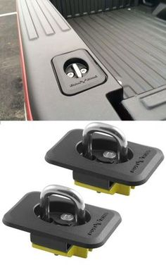 Erickson Retractable Tie-Down Anchors for Truck Bed Stake Pockets - lbs - Qty 2 Retractable anchors snap up and down and install quickly into truck's stake pockets without drilling. Use these to secure equipment in the bed of your truck. Ram Trucks, Lifted Trucks, Cool Trucks, Chevy Trucks, Pickup Trucks, Jeep Pickup, Lifted Chevy, Diesel Trucks, Auto Diesel