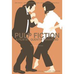 Pulp Fiction Illustrated Print