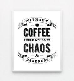 Coffee Print by fieldtrip
