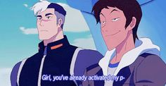 Spacedad won't have it #2 - Thank you SpaceDad for not putting up with Lance's crap - Shiro and Lance