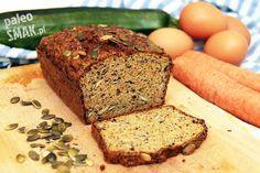 Chleb paleo z warzyw (niskowęglowodanowy) Sugar Free Recipes, Gluten Free Recipes, Naan, Paleo Bread, Food Inspiration, Cooking Tips, Banana Bread, Good Food, Food And Drink