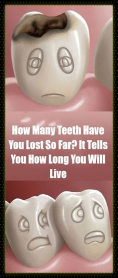 #teeth #lost #dental #live #lifespan #predict #health Home Workout Men, At Home Workouts, Health And Fitness Tips, Health And Nutrition, Health Care, Healthy Habits, Healthy Tips, Natural Hair Treatments, Natural Remedies