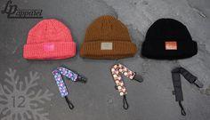 Beanies: SF series (Pink mix, Brown mix, Black) / Accessories: Pacifier clip (Hesperia, Unique, Black) * L&P exclusive *