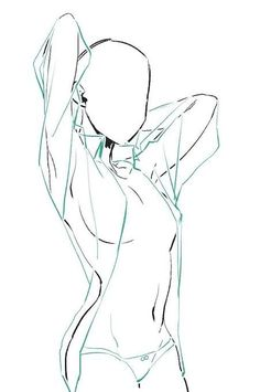 Drawing Body Poses, Body Reference Drawing, Drawing Reference Poses, Female Pose Reference, Arte Com Grey's Anatomy, Anatomy Art, Body Sketches, Art Drawings Sketches Simple, Body Drawing Tutorial
