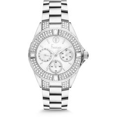 Fossil Women's Riley White and Stainless Steel Bracelet Watch - Women's Watches - Jewelry & Watches - Macy's Fossil Watches, Cool Watches, Watches For Men, Women's Watches, Ladies Watches, Wrist Watches, Unique Watches, Beautiful Watches, Necklaces