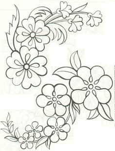 Grand Sewing Embroidery Designs At Home Ideas. Beauteous Finished Sewing Embroidery Designs At Home Ideas. Embroidery Designs, Hand Embroidery Patterns, Applique Patterns, Ribbon Embroidery, Beading Patterns, Flower Patterns, Flower Designs, Embroidery Stitches, Machine Embroidery