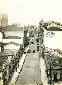 1940 - Rua Dom José de Barros.