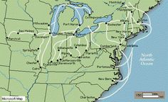 maps of the underground railroads