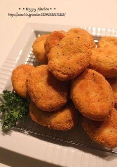 冷凍豆腐で*ガーリックチーズナゲット*パンチラって何?   たっきーママ オフィシャルブログ「たっきーママ@Happy Kitchen」Powered by Ameba