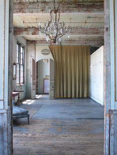 Interior in 'The Society inc.' by Sibella Court. Rustic Loft, Rustic Chic, Interior Architecture, Interior And Exterior, Interior Design, Ivy House, Rustic Elegance, Rustic Interiors, Beautiful Interiors