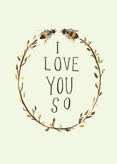 i love you so