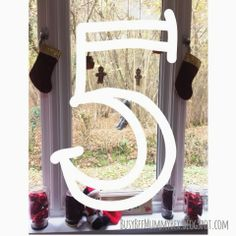 BusyBee: Advent Window number 5 : hanging children's toys #CraftyChristmas