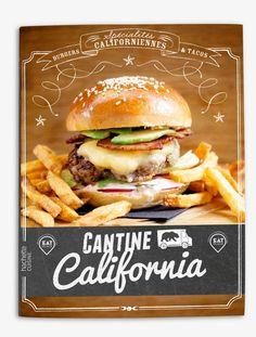 Recipe Book Design: Cantine California