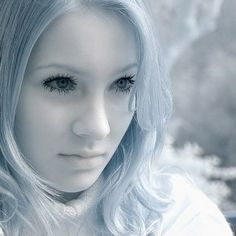 IR Photography Portrait