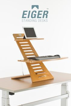 Eiger Standing Desk™: The retrofit solution