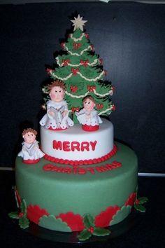 Christmas  Cake by Ria123
