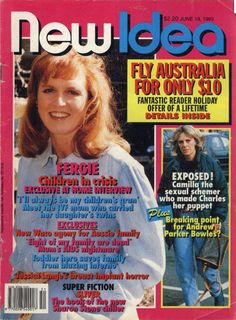 NEW IDEA MAGAZINE - 19TH JUNE 1993 Sarah Ferguson