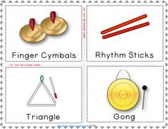 Music games | Instrument Bingo Untuned Percussion. ♫ CLICK through to read more or PIN for later! ♫ #musiceducation