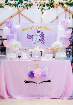 Unicorn Theme Birthday Party Ideas | Photo 1 of 18 | Catch My Party