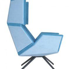 Christian Kroepfl - Architect & Designer in Vienna - Christian Kröpfl Metal Furniture, Modern Furniture, Furniture Design, Wood And Metal, Solid Wood, Vienna, Designer, Christian, Chair