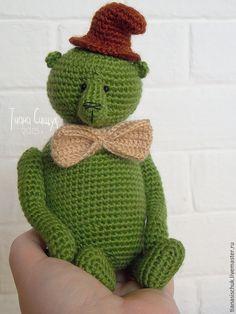 Купить МК Мишка Тедди Хранитель (17 см) - мастер-класс, мастер класс