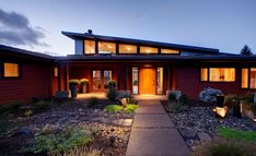 Check out Kraft Custom Construction's New Modern Ranch House. We are your home remodeling contractors, helping you build & renovate your homes. Home Remodeling Contractors, Clerestory Windows, Modern Ranch, Level Homes, Ranch Style, Architecture Design, Creative Architecture, Architecture Graphics, Landscape Architecture