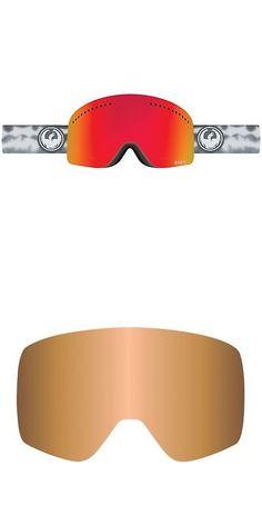 6fba69cf3eb Goggles and Sunglasses 21230  Dragon Nfx Snow Goggles Onus Grey-Red  Ion+Amber