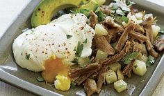 Pork and Potato Hash with Eggs and Avocado & other fast meals