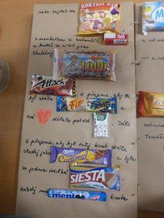 přání k narozeninám Snack Recipes, Snacks, Pop Tarts, Caramel, Presents, Packaging, Notes, Birthday, Diy