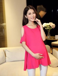 See related links to what you are looking for. Maternity Sewing, Maternity Wear, Maternity Fashion, Maternity Dresses, Spring Outfits, Girl Outfits, Fashion Outfits, Clothes For Pregnant Women, Pregnant Mom