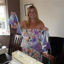 Creative sewing classes in Leicester