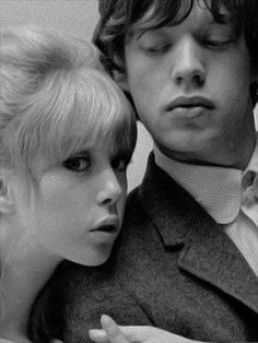 Patti Boyd & Mick Jagger by John French in 1964 Pattie Boyd, George Harrison, Patti Harrison, Eric Clapton, Divas, Los Rolling Stones, This Is Your Life, British Invasion, Wife And Girlfriend