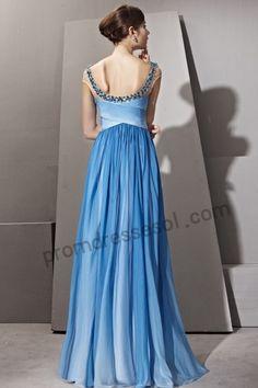 Back blue-backless-tencel-princess