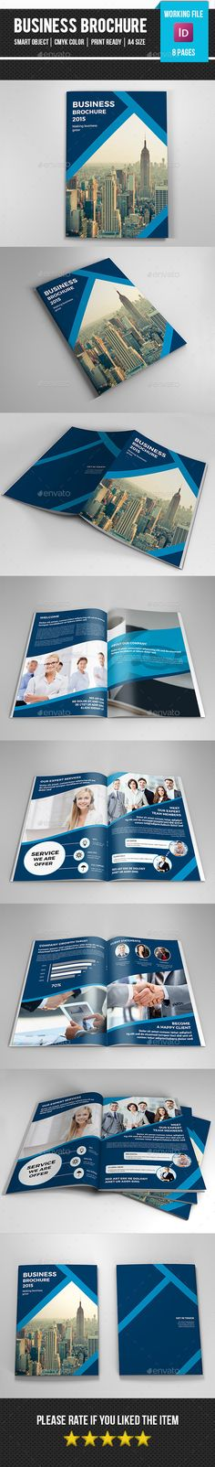 Indesign Corporate Brochure Template #design #print Download: http://graphicriver.net/item/indesign-corporate-brochure271/11984383?ref=ksioks