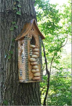If you're planning to hide a birdhouse #geocache, here's an idea to make it stand out from all the other bird house caches.