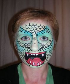 a great monster face painting