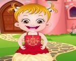 Em Bebê Hazel Princesinha Fashion, Bebê Hazel gosta muito de Contos de Fadas com lindas princesas e príncipes. Hoje nossa amiguinha a Bebê Hazel vai se tornar uma princesinha. Junte-se a ela nesta aventura em um castelo mágico e depois a transforme completamente em uma princesa. Faça uma linda maquiagem e depois escolha o vestido mais bonito de princesa. Divirta-se com Bebê Hazel!