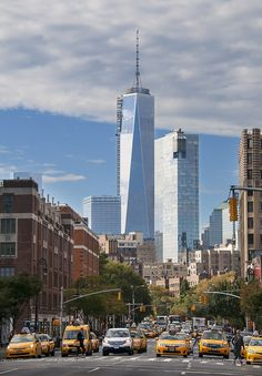 Waverly Place Crosswalk ~ New York City, New York